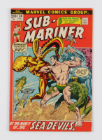 "1972 ""Sub-Mariner"" Issue #54 Marvel Comic Book at PristineAuction.com"