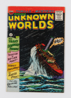 """1966 """"Unknown Worlds"""" Issue #1 ACG Comic Book at PristineAuction.com"""
