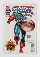 "1996 ""Captain America"" Issue #1 Marvel Comic Book at PristineAuction.com"