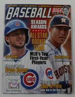 Carlos Correa Signed 2016 Baseball Digest Magazine (PSA COA) at PristineAuction.com