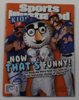 Curtis Granderson Signed 2016 Sports Illustrated Kids Magazine (PSA COA) at PristineAuction.com