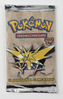 Zapdos 1999 Pokemon Fossil Unlimited Booster Pack With (11) Cards at PristineAuction.com