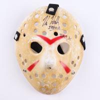 "Kane Hodder Signed ""Friday the 13th"" Mask Inscribed ""Jason 7,8,9,X"" (Legends COA) at PristineAuction.com"