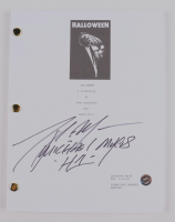 """Tony Moran Signed """"Halloween"""" Movie Script Inscribed """"Michael Myers 'H1'""""(Legends COA) at PristineAuction.com"""