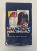 1990-91 NBA Hoops Basketball Factory Sealed Hobby Box at PristineAuction.com