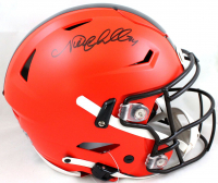 Nick Chubb Signed Browns Full-Size Authentic On-Field SpeedFlex Helmet (Beckett Hologram) at PristineAuction.com