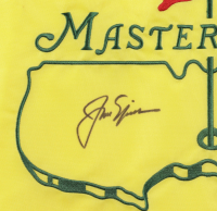 Jack Nicklaus Signed Masters Golf Pin Flag (Beckett LOA) at PristineAuction.com