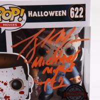 "Tony Moran Signed ""Halloween"" #3 Michael Myers Funko Pop! Vinyl Figure Inscribed ""Michael Myers 'H1'"" (Legends COA) (See Description) at PristineAuction.com"