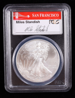 2014-S American Silver Eagle $1 One Dollar Coin - First Strike (PCGS MS69) at PristineAuction.com