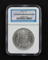 1896 Morgan Silver Dollar (NGC Brilliant Uncirculated) at PristineAuction.com