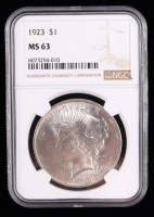 1923 Peace Silver Dollar (NGC MS63) at PristineAuction.com