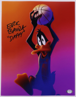 """Eric Bauza Signed """"Space Jam: A New Legacy"""" 11x14 Photo Inscribed """"Daffy"""" (PSA COA) at PristineAuction.com"""