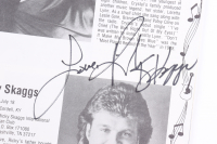 """Ricky Skaggs, Mel McDaniel, & Ronnie McDowell Signed """"The Best Of Country Music"""" Program Inscribed """"Love"""" (Beckett LOA) (See Description) at PristineAuction.com"""