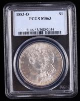 1883-O Morgan Silver Dollar (PCGS MS63) at PristineAuction.com