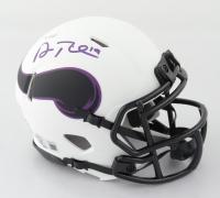 Adam Thielen Signed Vikings Lunar Eclipse Alternate Speed Mini Helmet (Beckett Hologram) at PristineAuction.com