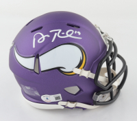 Adam Thielen Signed Vikings Speed Mini Helmet (Beckett Hologram) at PristineAuction.com