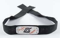 "Maile Flanagan Signed ""Naruto"" Belt Inscribed ""Naruto!"" (Beckett COA & PSA Hologram) at PristineAuction.com"