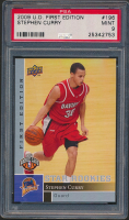 Stephen Curry 2009-10 Upper Deck First Edition #196 RC (PSA 9) at PristineAuction.com