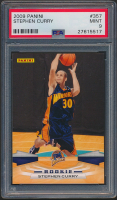 Stephen Curry 2009-10 Panini #357 RC (PSA 9) at PristineAuction.com