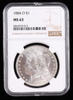1884-O Morgan Silver Dollar (NGC MS63) (Toned) at PristineAuction.com