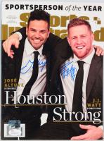 Jose Altuve & J. J. Watt Signed 2017 Sports Illustrated Magazine (JSA COA & Watt Hologram) at PristineAuction.com