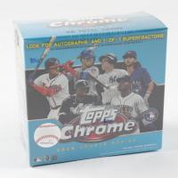 2020 Topps Chrome Update Baseball Mega Blue Box with (7) Packs at PristineAuction.com