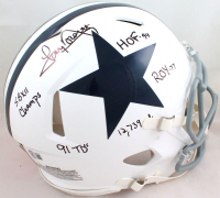 Tony Dorsett Signed Cowboys Full-Size Authentic On-Field Speed Helmet With (5) Career Stat Inscriptions (Beckett Hologram) at PristineAuction.com