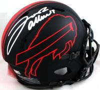 Josh Allen Signed Bills Full-Size Authentic On-Field Eclipse Alternate Speed Helmet (Beckett Hologram) at PristineAuction.com