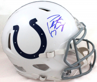 Peyton Manning Signed Colts Full-Size Authentic On-Field Speed Helmet (Fanatics Hologram) at PristineAuction.com