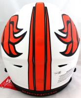Peyton Manning Signed Broncos Full-Size Authentic On-Field Lunar Eclipse Alternate SpeedFlex Helmet (Fanatics Hologram) at PristineAuction.com