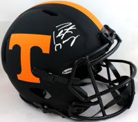Peyton Manning Signed Tennessee Volunteers Full-Size Authentic On-Field Eclipse Alternate Speed Helmet (Fanatics Hologram) at PristineAuction.com
