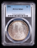 1882 Morgan Silver Dollar (PCGS MS63) (Toned) at PristineAuction.com