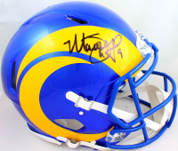 Matthew Stafford Signed Rams Full-Size Authentic On-Field Speed Helmet (Fanatics Hologram) at PristineAuction.com