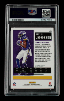 Justin Jefferson 2020 Panini Contenders Red Zone #109A AU (PSA 10) at PristineAuction.com