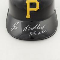"Bill Madlock Signed Pirates Full-Size Batting Helmet Inscribed ""1979 W.S.C."" (Beckett Hologram) (See Description) at PristineAuction.com"