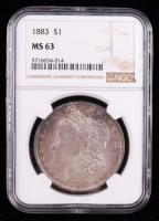 1883 Morgan Silver Dollar (NGC MS63) (Toned) at PristineAuction.com