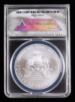 2014-(S) American Silver Eagle $1 One Dollar Coin - First Strike, Struck at San Francisco, Black Eagle Label (ANACS MS70) at PristineAuction.com