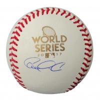 Carlos Correa Signed 2017 World Series Logo Baseball (JSA COA) at PristineAuction.com