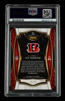Joe Burrow 2020 Select Prizm Neon Green #146 RC #14/49 (PSA 9) at PristineAuction.com