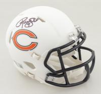 Robbie Gould Signed Bears Matte White Speed Mini-Helmet (Beckett Hologram) at PristineAuction.com