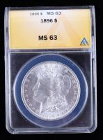 1896 Morgan Silver Dollar (ANACS MS63) at PristineAuction.com