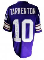 """Fran Tarkenton Signed Jersey Inscribed """"HOF 86"""" (Beckett COA) at PristineAuction.com"""