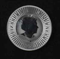 2021 Australia 1oz Kangaroo Silver Coin at PristineAuction.com