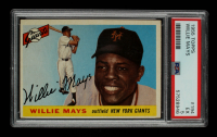 Willie Mays 1955 Topps #194 (PSA 5) at PristineAuction.com