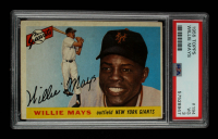 Willie Mays 1955 Topps #194 (PSA 3) at PristineAuction.com