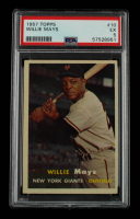 Willie Mays 1957 Topps #10 (PSA 5) at PristineAuction.com