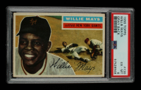 Willie Mays 1956 Topps #130 (PSA 6) at PristineAuction.com
