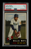 Willie Mays 1953 Topps #244 (PSA 3) at PristineAuction.com