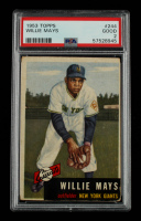 Willie Mays 1953 Topps #244 (PSA 2) at PristineAuction.com