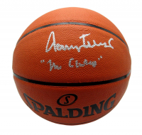 """Jerry West Signed NBA Silver Series Basketball Inscribed """"Mr. Clutch"""" (PSA COA) at PristineAuction.com"""